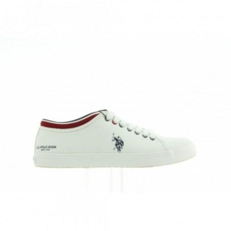 Sneakersy U.S. Polo Stewart1 WOUCK7178W7/TY1 WHITE