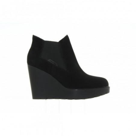 Botki Calvin Klein Sydney Suede RE9004 Black