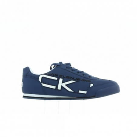Sneakersy Calvin Klein Cale Matte Smooth SE8454 Steel Blue