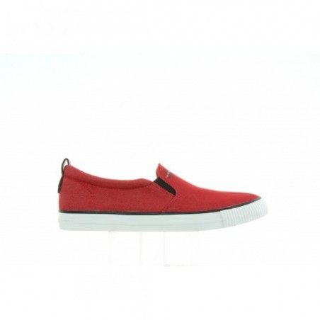 Tenisówki Calvin Klein Armand Denim S1488 Red