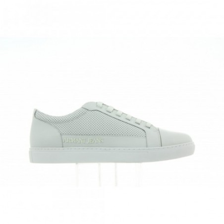 Sneakersy Armani Jeans Low Cut White Blanc DE 935042 6A423 07311