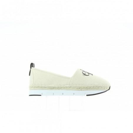 Espadryle Calvin Klein Genna Heavy Canvas R8949 Natural White