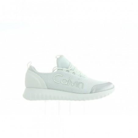 Sneakersy Calvin Klein Reika Mesh R0666 White Silver
