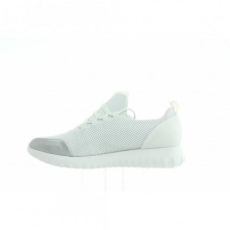 R0666 White Silver Biały