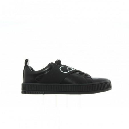 Sneakersy Calvin Klein Milton Nappa Smooth S0500 Black Black