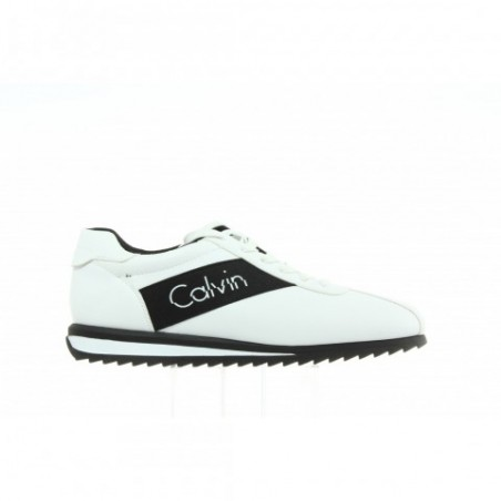 Sneakersy Calvin Klein Chad Nappa Smooth S0499 White Black