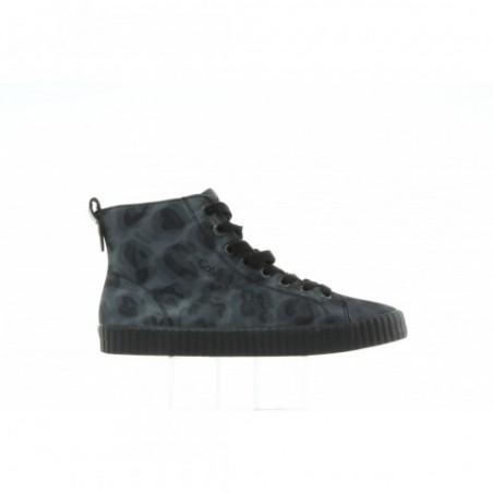Sneakersy Calvin Klein Diana Leopard Nylon R0623 Grey