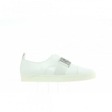 Sneakersy Calvin Klein Ilona Cervo E5681 Platinum White