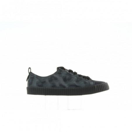 Półbuty Calvin Klein Dixi Leopard Nylon R0619 Grey