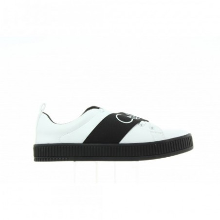 Sneakersy Calvin Klein Antonia Smooth R0658 White Black