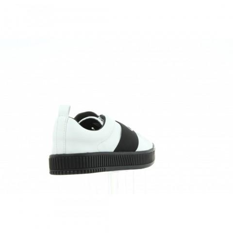 R0658 White Black Biały