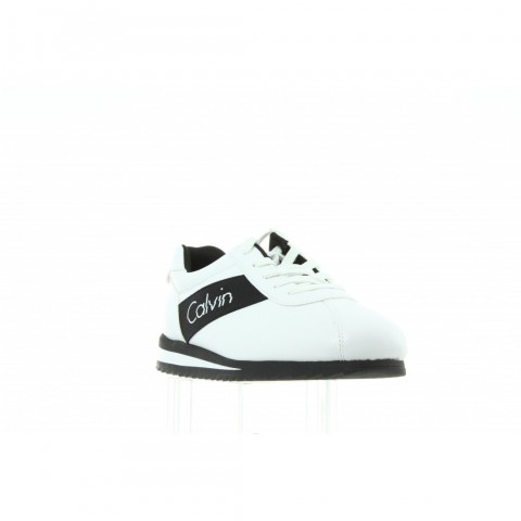 R0656 White Black Biały