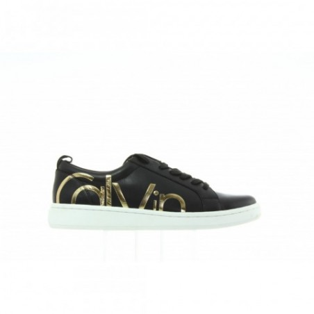 Sneakersy Calvin Klein Danya Cow Silk E5827 Black