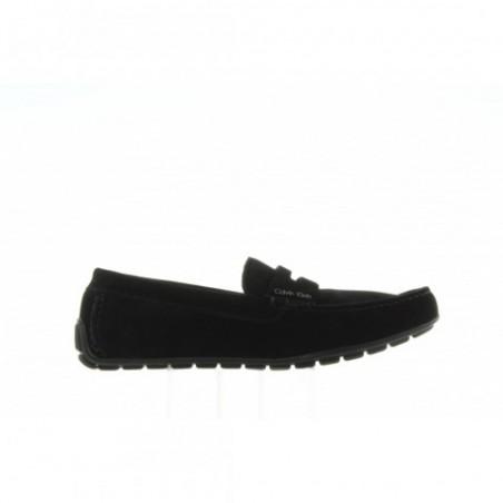 Mokasyny Calvin Klein Ivan Calf Suede F0504 Black