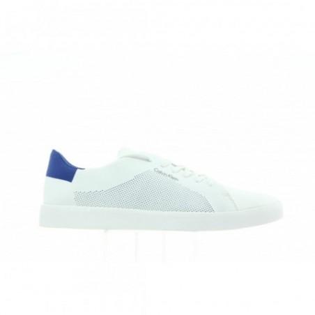 Tenisówki Calvin Klein Ion 2 Knit Weave F0848 White Brave Blue