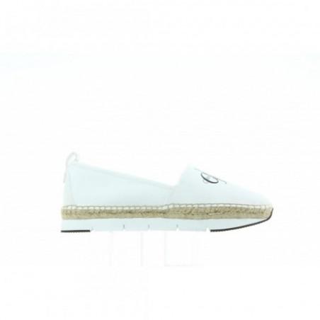 Espadryle Calvin Klein Genna Canvas R3768 White