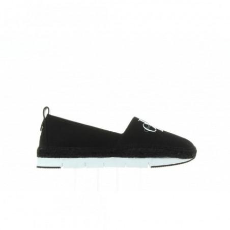 Espadryle Calvin Klein Genna Canvas R3768 Black