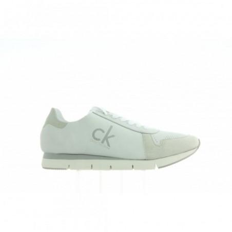 Sneakersy Calvin Klein Tuesday Nubuck R4081 White