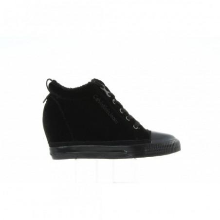 Sneakersy Calvin Klein Robina Valvet R0530 Black