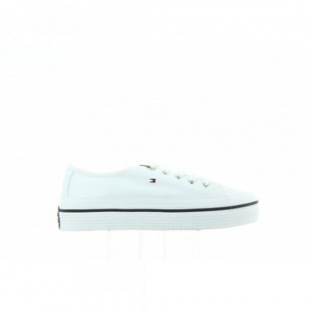 Sneakersy Tommy Hilfiger Corporate Flatform FW0FW02456 100