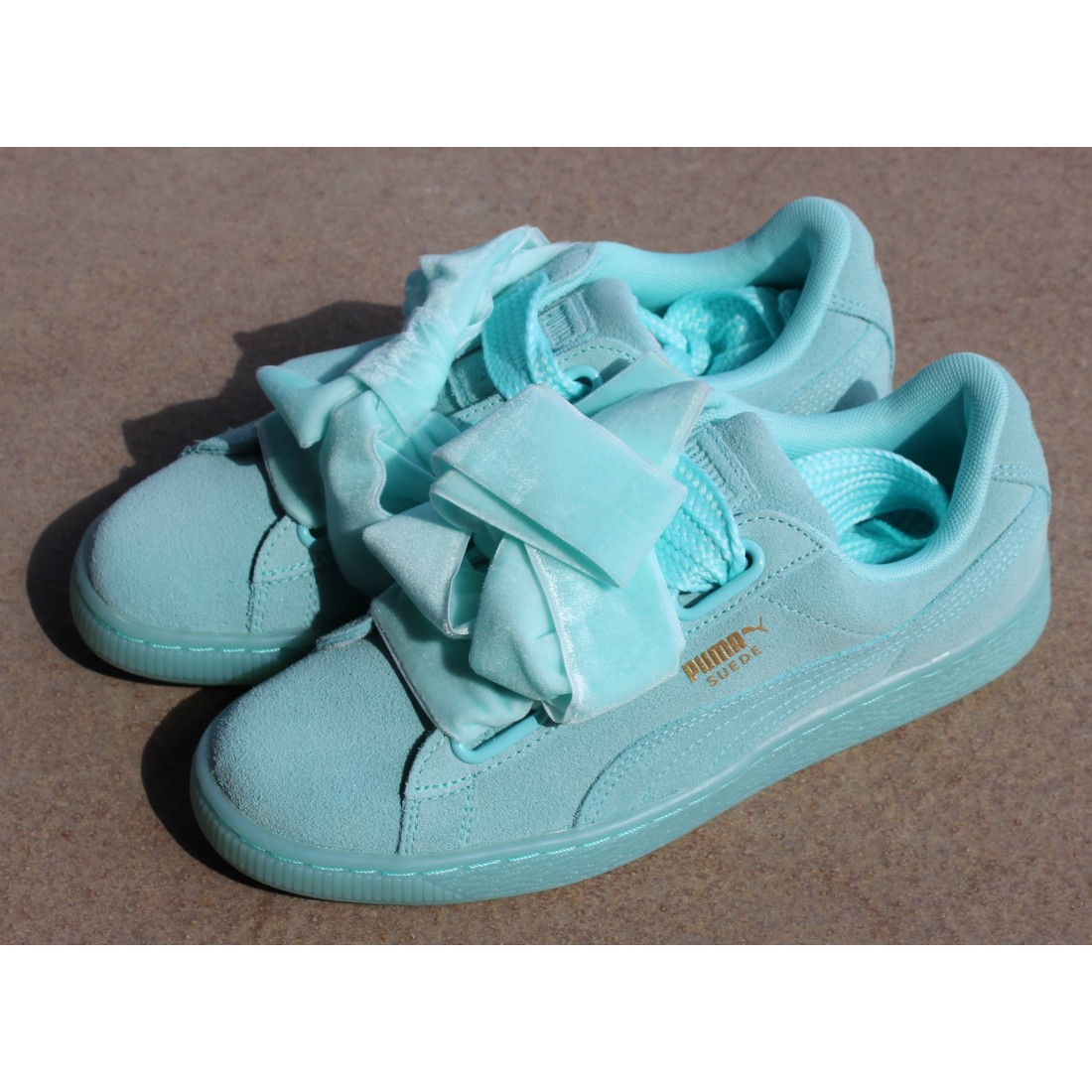 sports shoes 88345 6c0be Sneakersy Puma Suede Heart Reset 363229 01