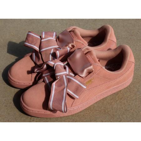Sneakersy  Puma Suede Heart Satin II 364084 03