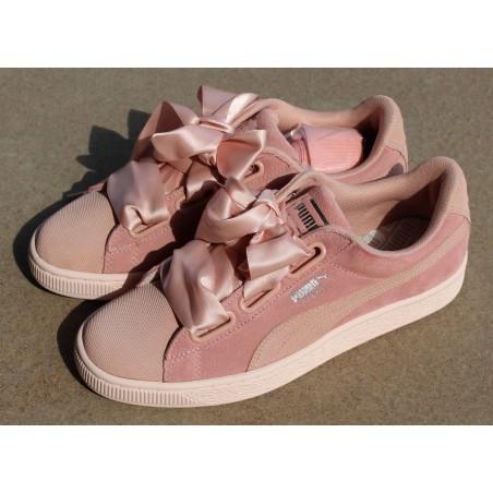 Sneakersy  Puma Suede Heart Pebble 365210 01